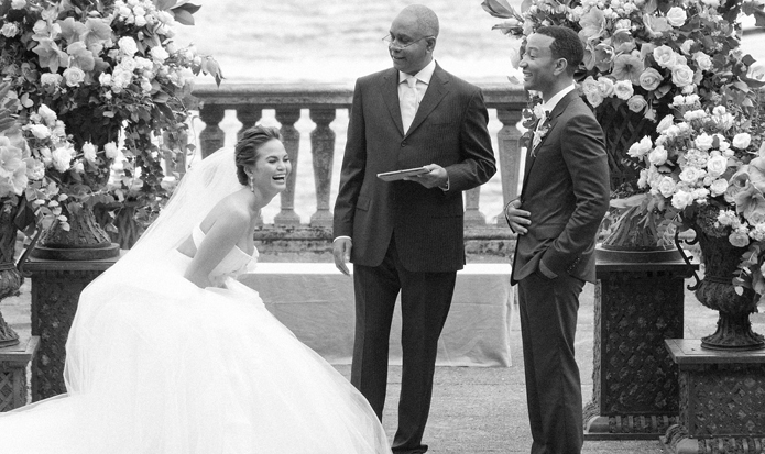 زفاف جون ليجيند وكريسي تايغن