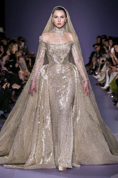 فستان جورج حبيقة Georges Hobeika