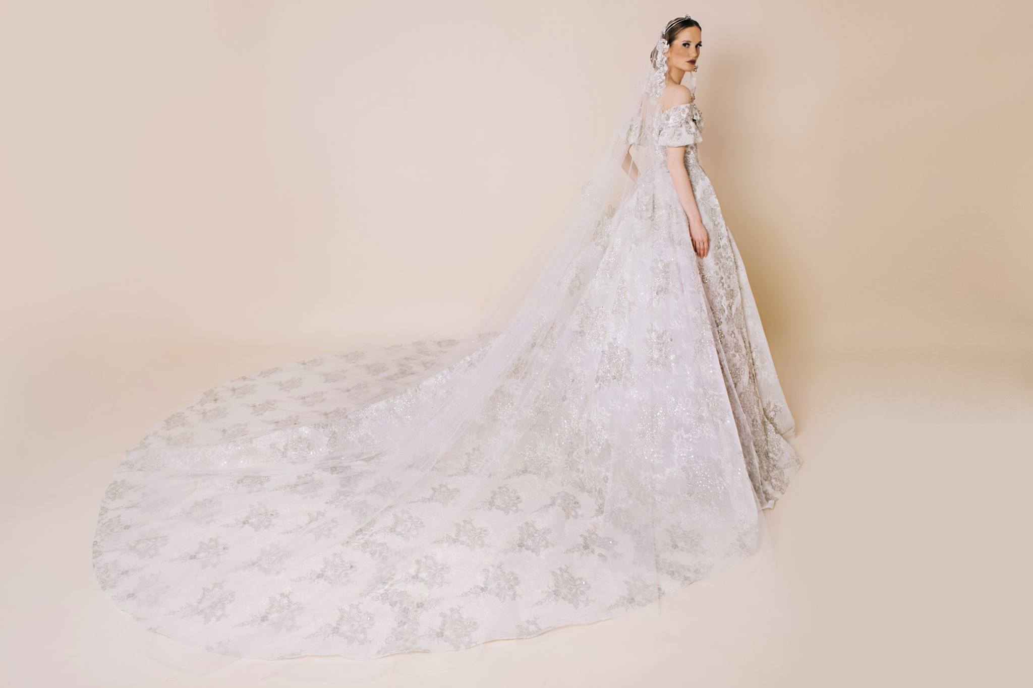e855e8b399a2a فساتين زفاف كلاسيكية من ريم قشمر