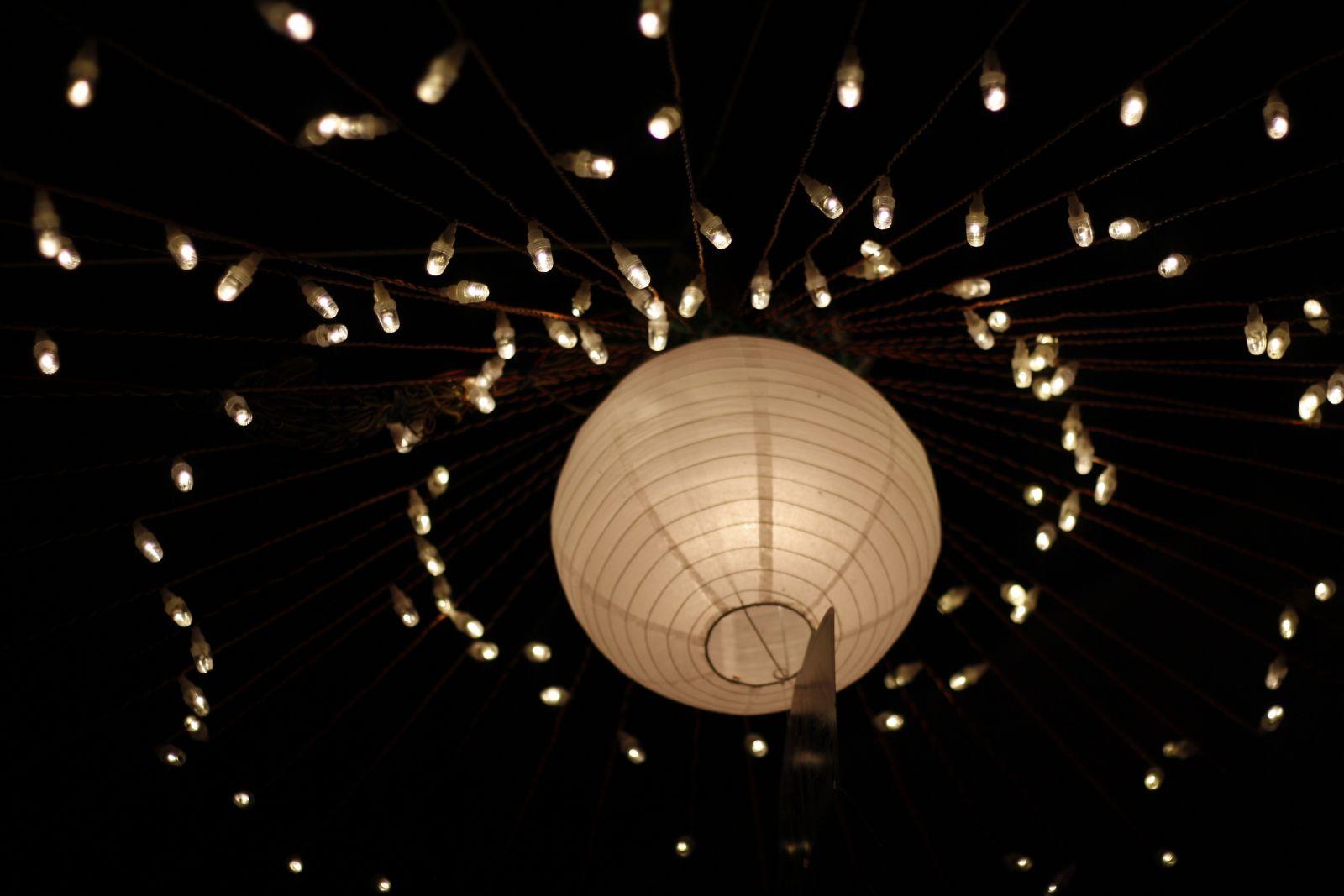 الإضاءة بالمصابيح الكروية