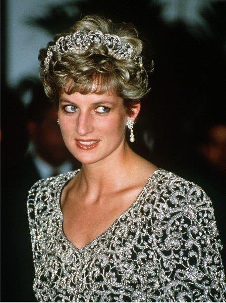 تيجان الأميرة ديانا Diana