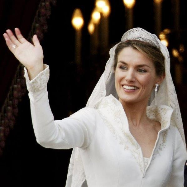 تيجان الأميرة ليتيزيا Letizia