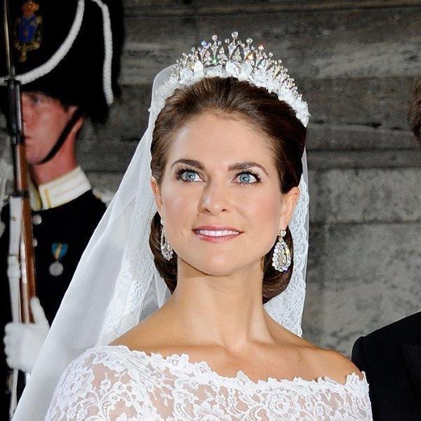 تاج الأميرة مادلين Princess Madeleine of Sweden