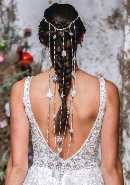 اكسسوار الشعر الخلفي