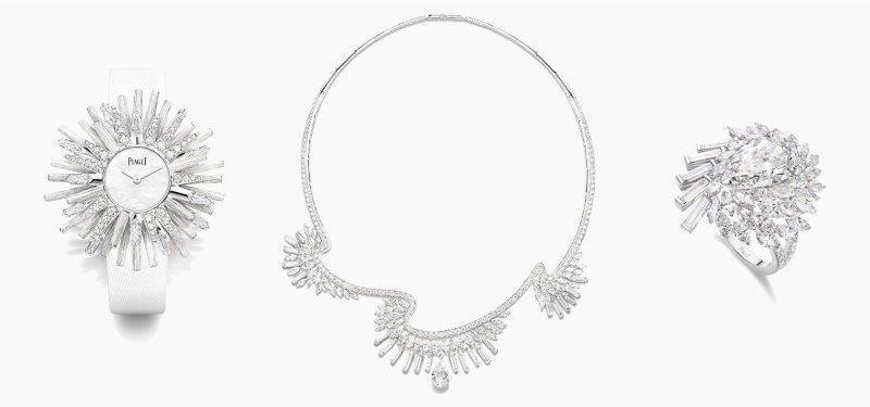 طقم شبكة الماس من بياجيه Piaget