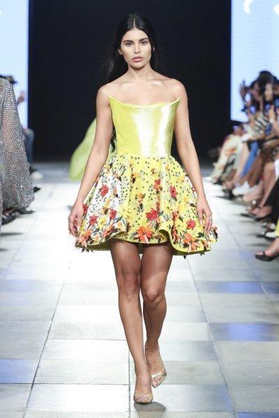 فستان رامي قاضي Rami Kadi