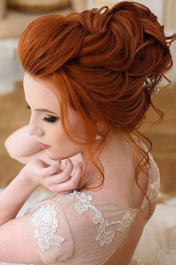 صبغة شعر باللون البرتقالي