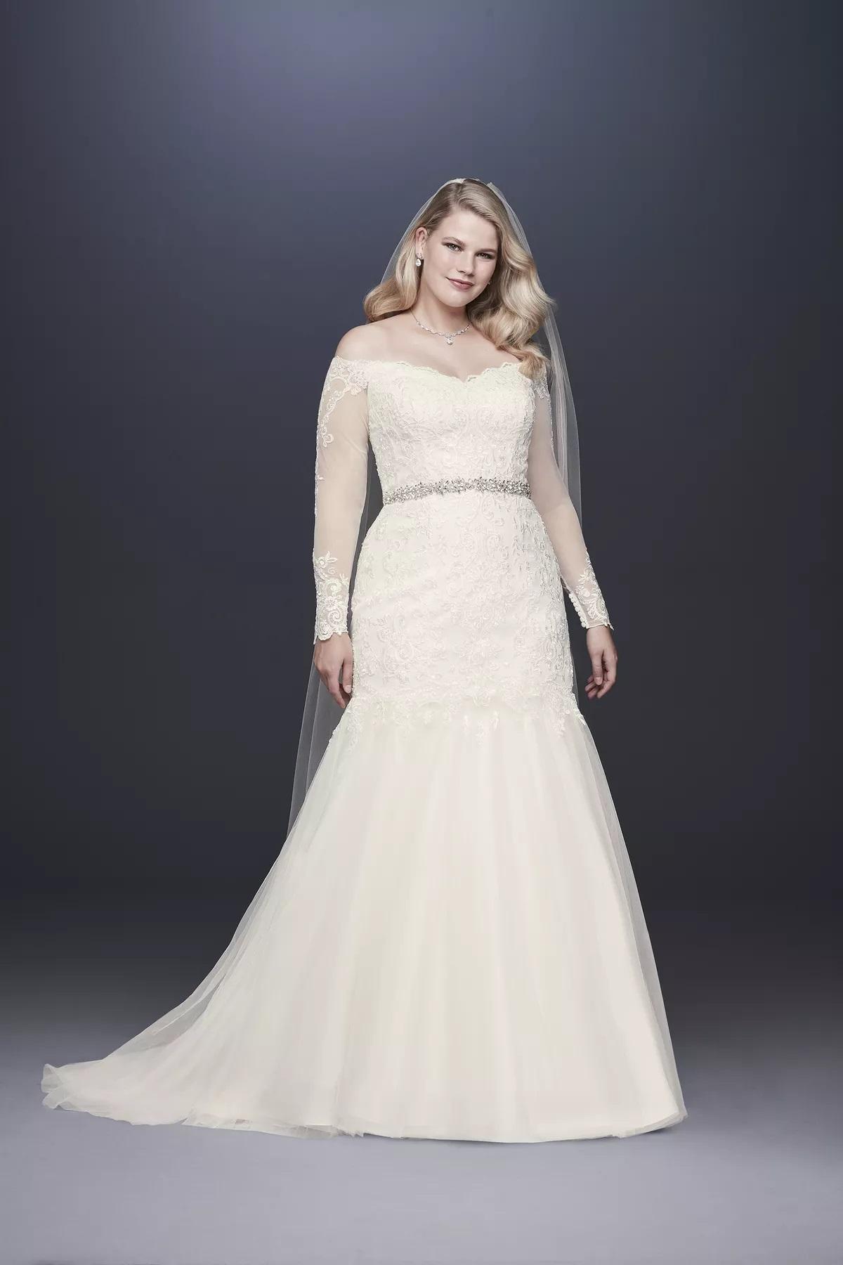 فساتين زفاف للعروس الممتلئة 2021
