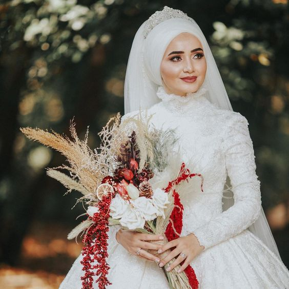 لفات طرح عروس