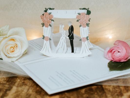 عبارات كروت زواج