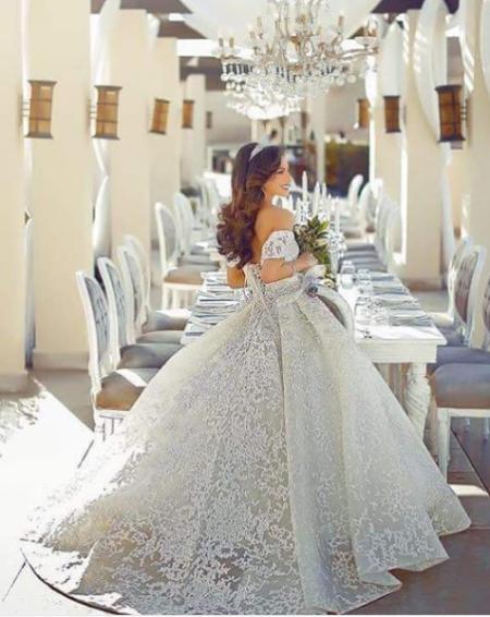 عروس عيون مصر-فساتين افراح سندريلا