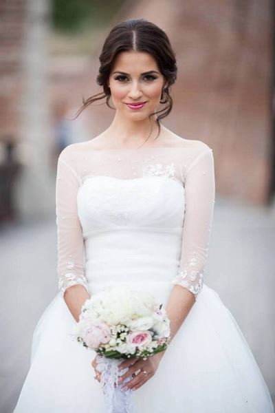 المكياج المناسب للعروس السمراء
