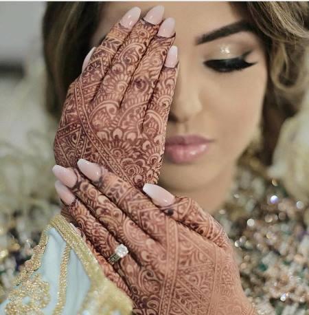 صور الرسومات الحناء المغربية