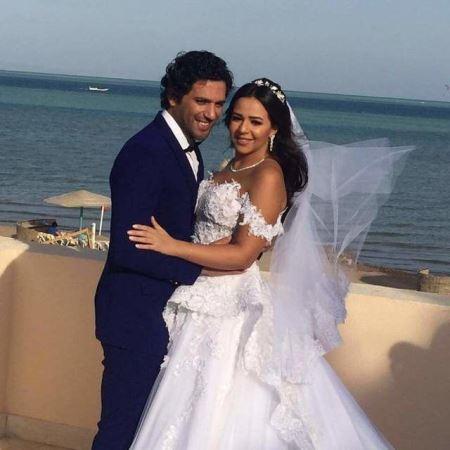 زفاف حسن الرداد وايمي سمير غانم