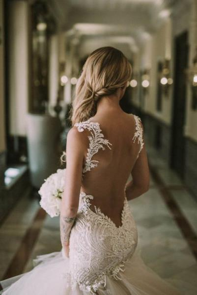 فساتين زفاف عروس 2019