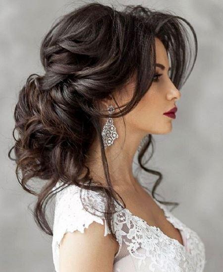 صبغة شعر العروس