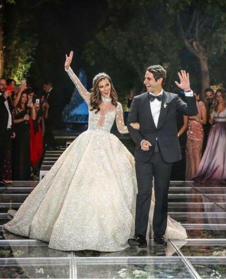 زفاف لارا اسكندر