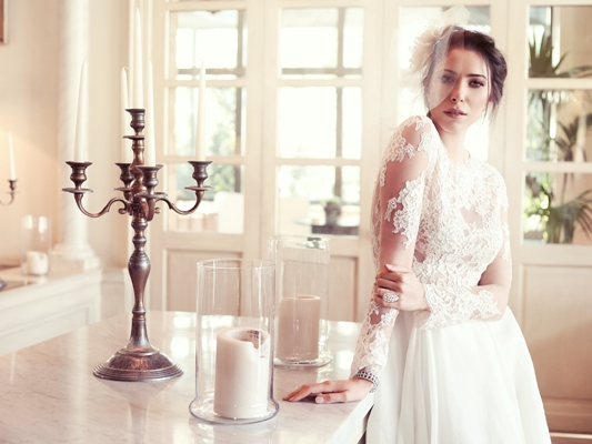 العروس دانييلا رحمة