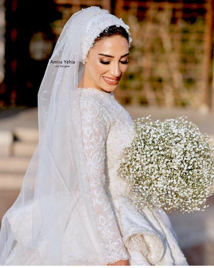 طرحة عروس2019