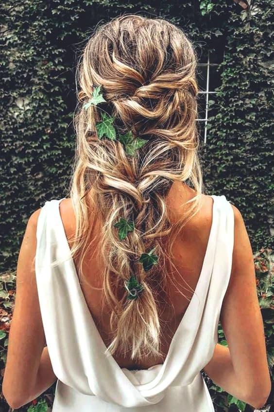 تسريحات شعر العروس