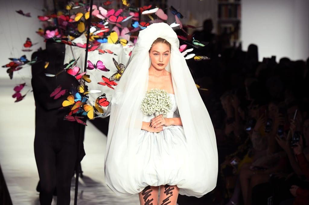 فستان زفاف Moschino