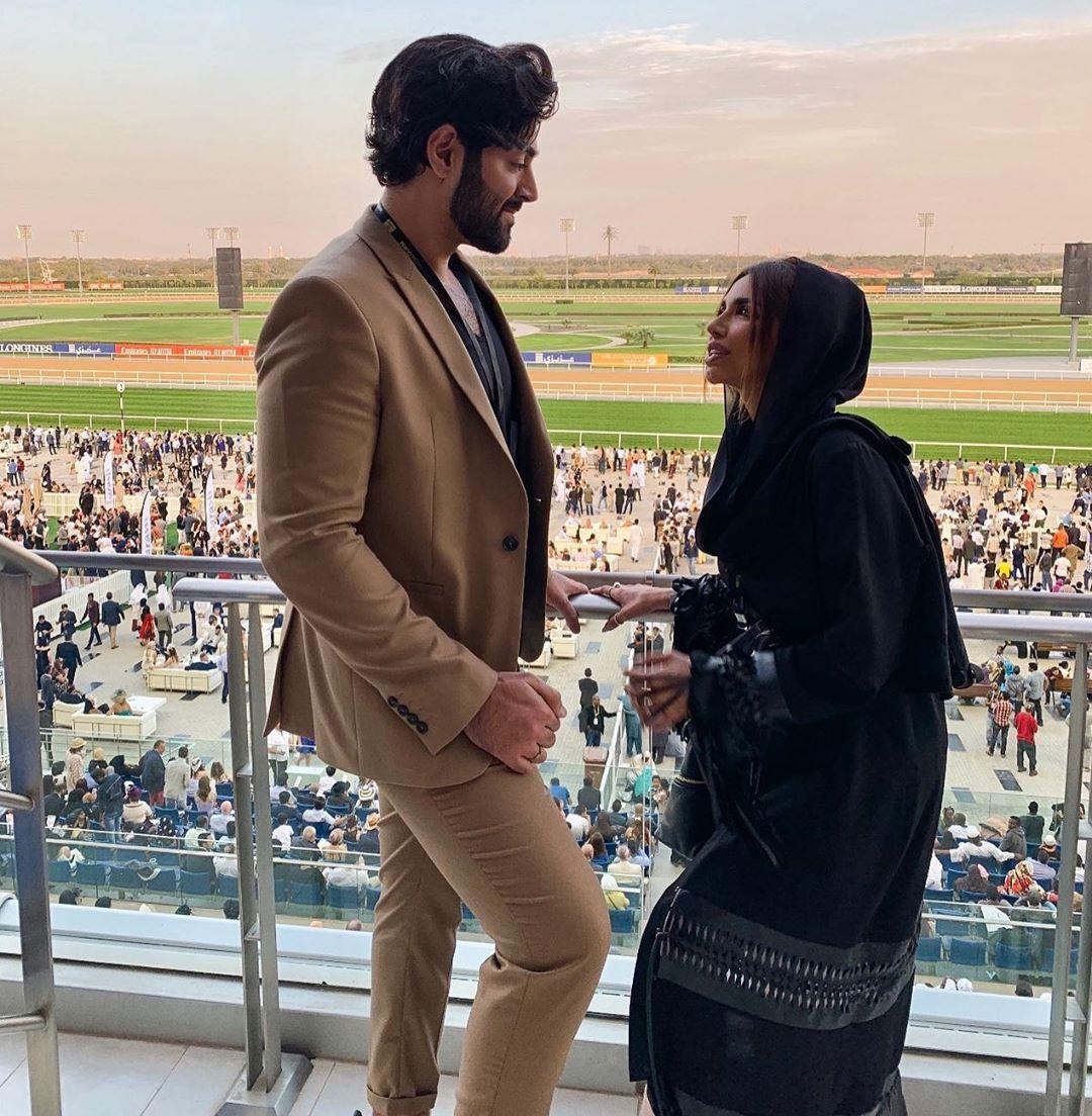 زواج الإماراتية سارة المدني