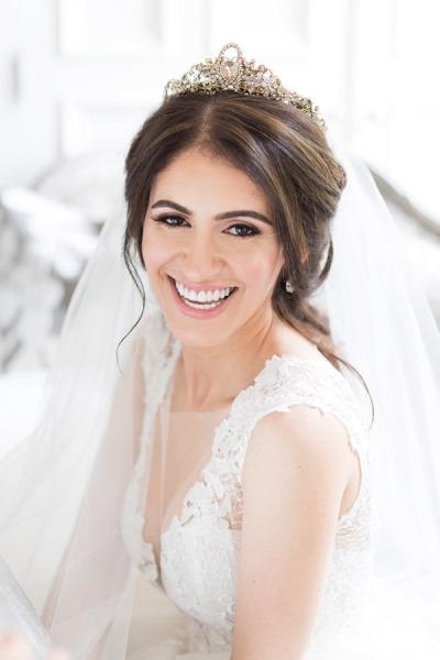 عناية ببشرة العروس