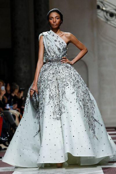 فستان زفاف زياد نكد