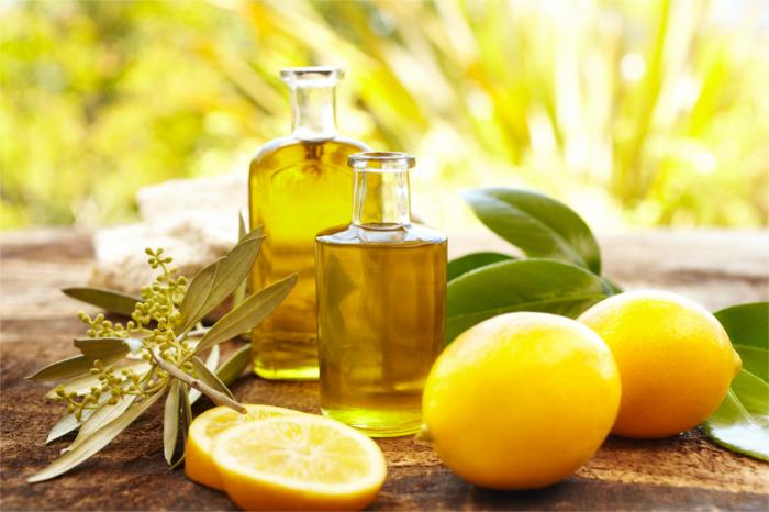 وصفة قطرات الليمون وزيت الزيتون