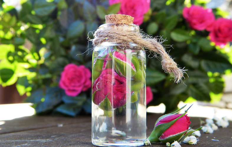 وصفة ماء الورد