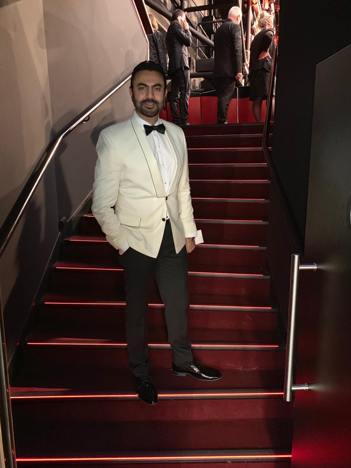 محمد كريم من مهرجان كان السينمائي