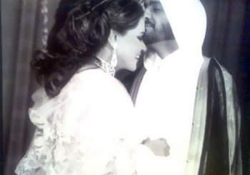 أحلام وزوجها مبارك