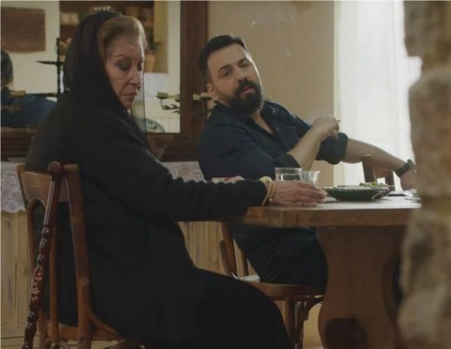 منى واصف وتيم حسن من مسلسل الهيبة