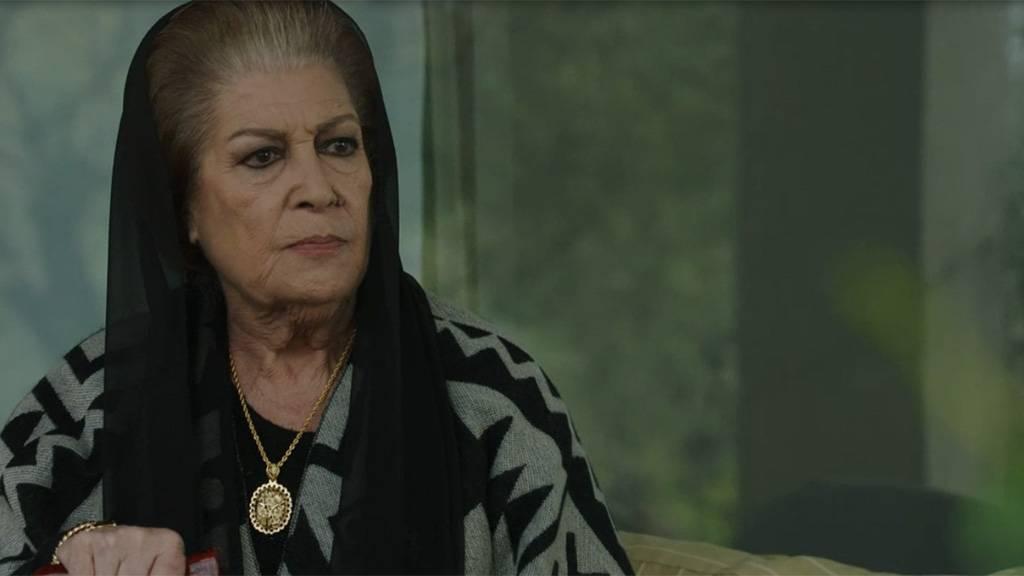 منى واصف ومشهد لها من مسلسل الهيبة
