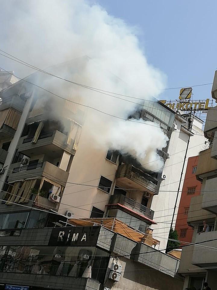 الحريق في شقة جيسي عبدو