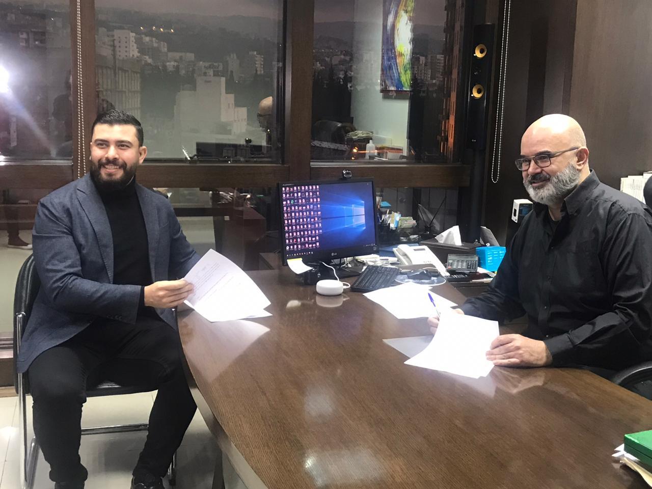 ستار سعد وغسان الشرتوني