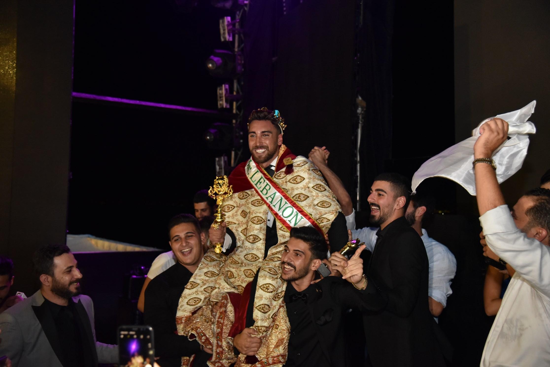 بعد اعلان فوز محمد صندقلي بلقب ملك جمال لبنان