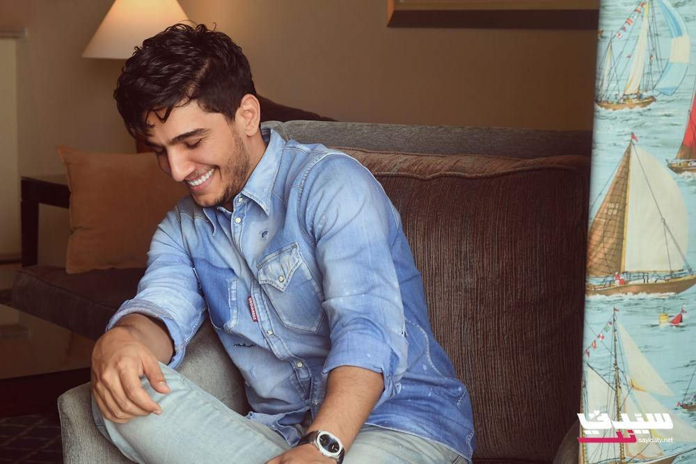 النجم الشاب محمد عساف