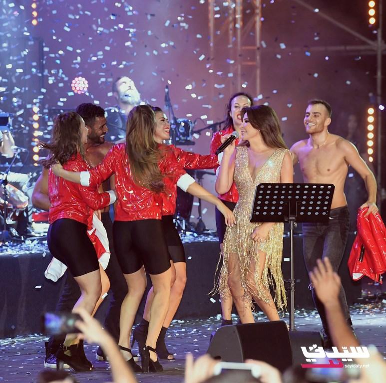 اليسا من حفلها في بيروت