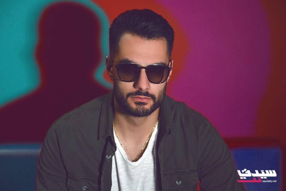 يعقوب شاهين في ستوديو عمر صباغ