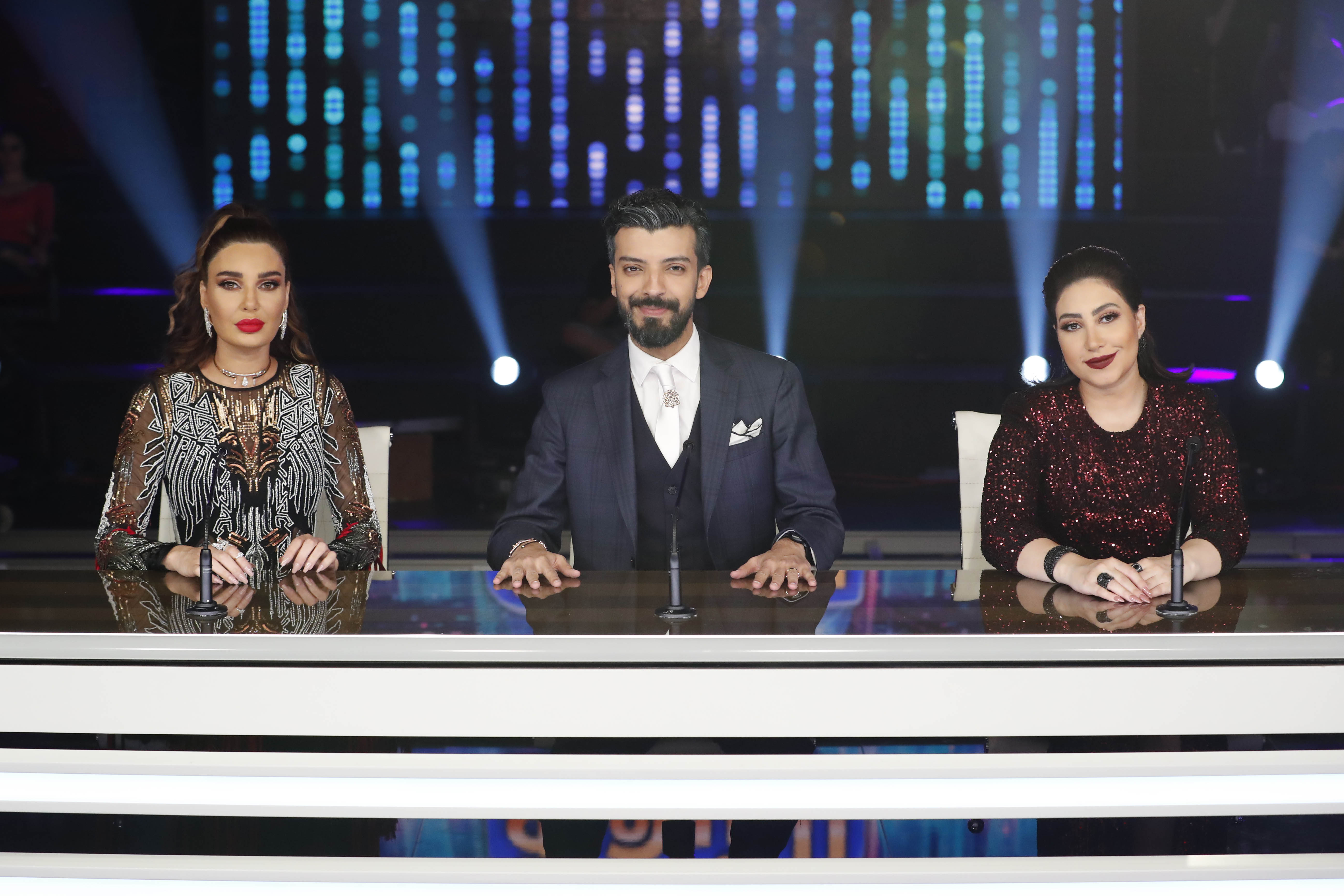 سيرين وبوسي ويعقوب الفرحان من كواليس الديفا