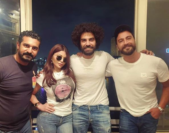 هيفاء وهبي ومعتصم النهار ومحمد الوزيري ومحمد حماقي