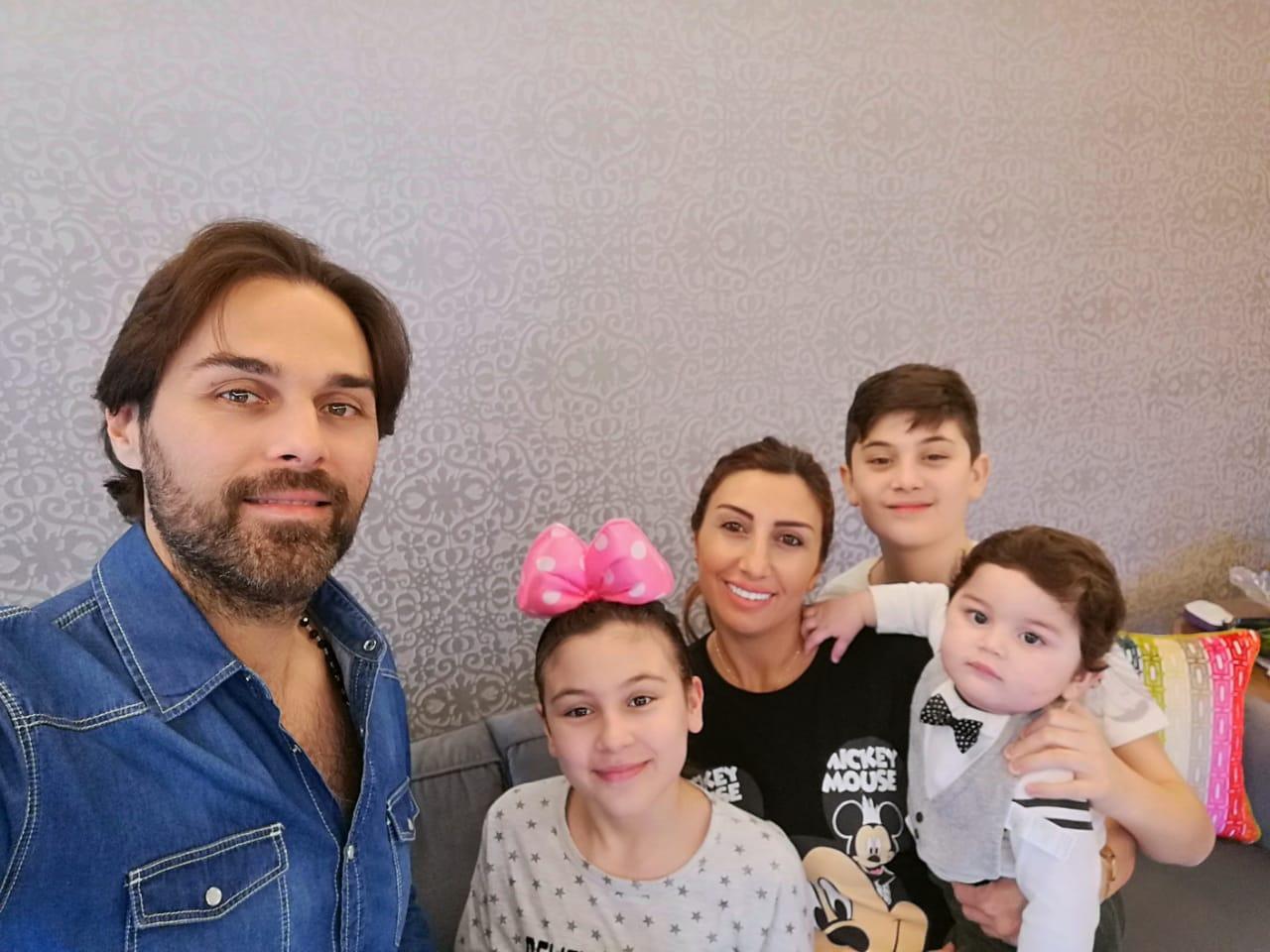 مازن معضم وعائلته