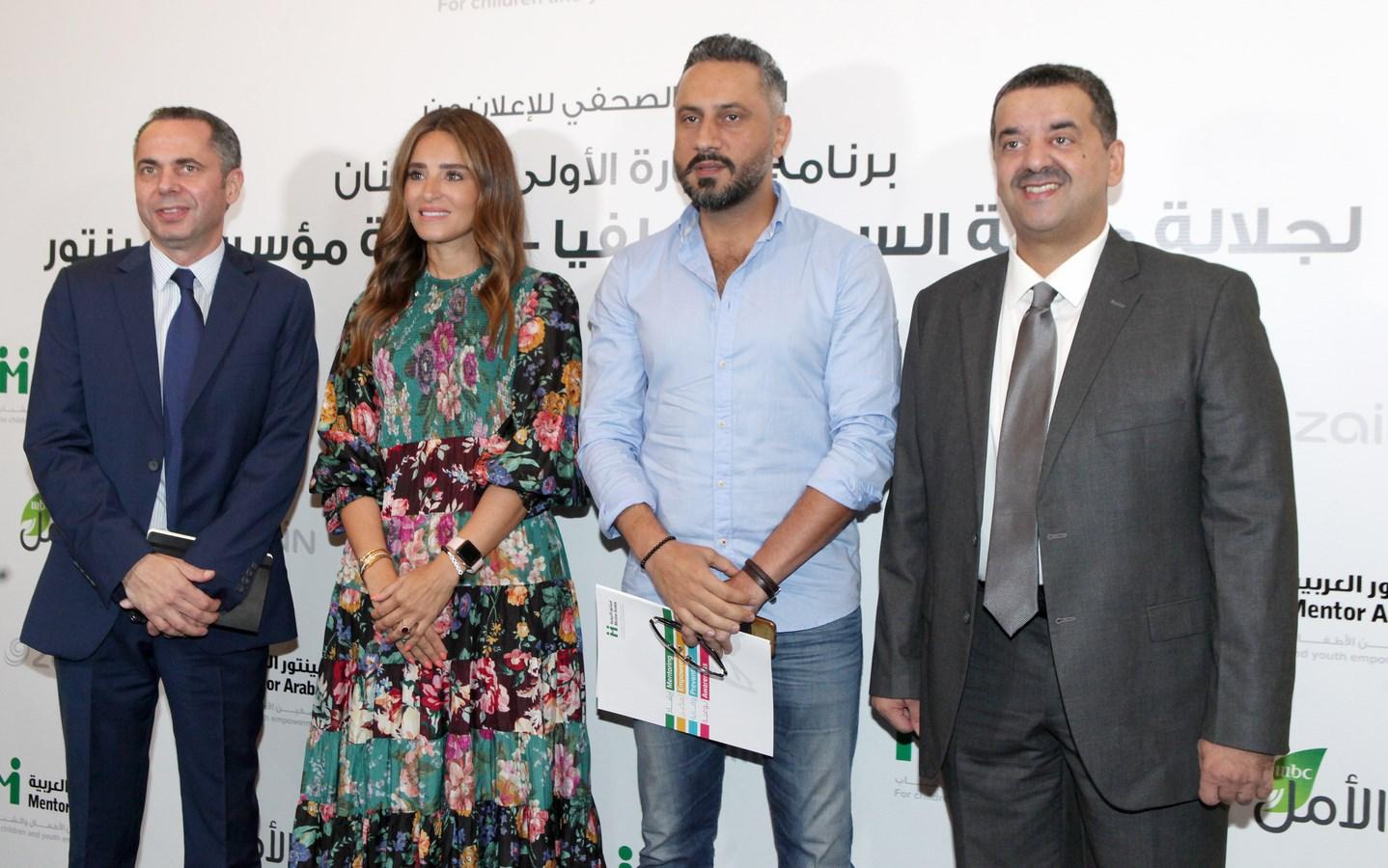 8السيد وليد الخشتي والفنّان قيس الشيخ نجيب وثريا أسماعيل وامري كوغا