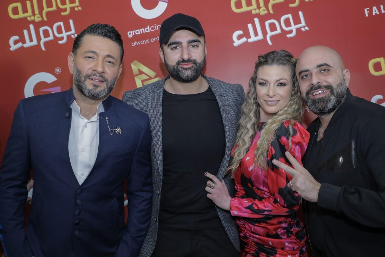 رائد سنان وباميلا الكيك وهشام حداد وزياد برجي