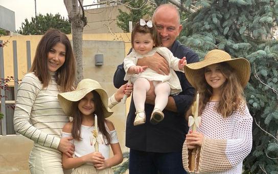نانسي وعائلتها