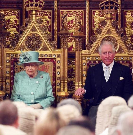 الملكة اليزابيت وزوجها