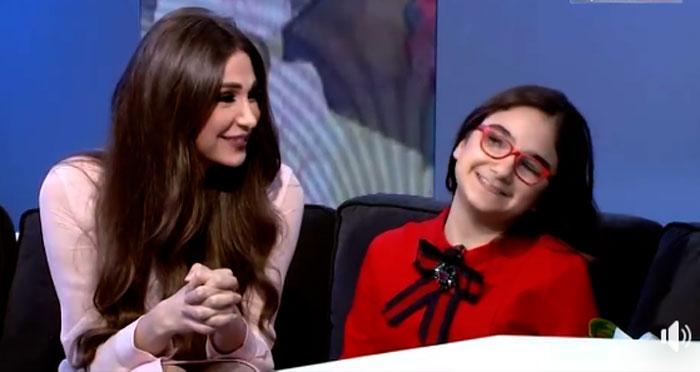 ديما صادق وابنتها ياسمينا