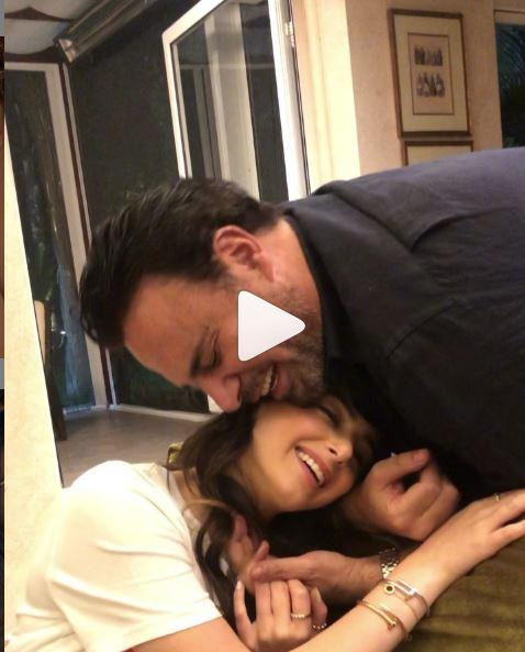 فيديو ماريتا الحلاني مع والدها عاصي