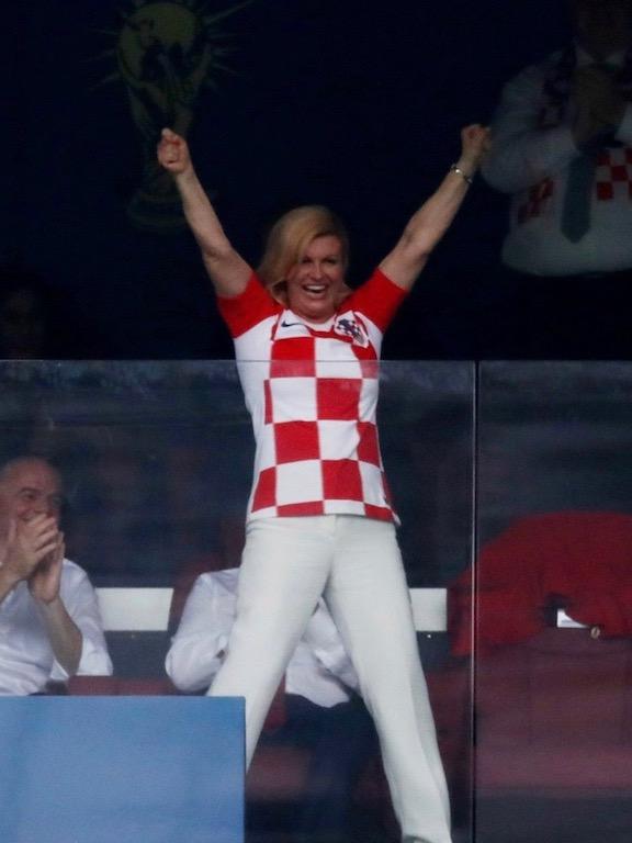 رئيسة كرواتيا كوليندا غرابار كيتاروفيتش
